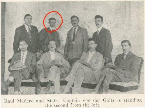 Horst+von+der+Goltz+and+Felix+A-1.+Sommerfeld+(top+left)
